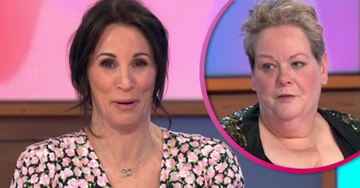 Andrea Mclean and Anne Hegerty on Loose Women