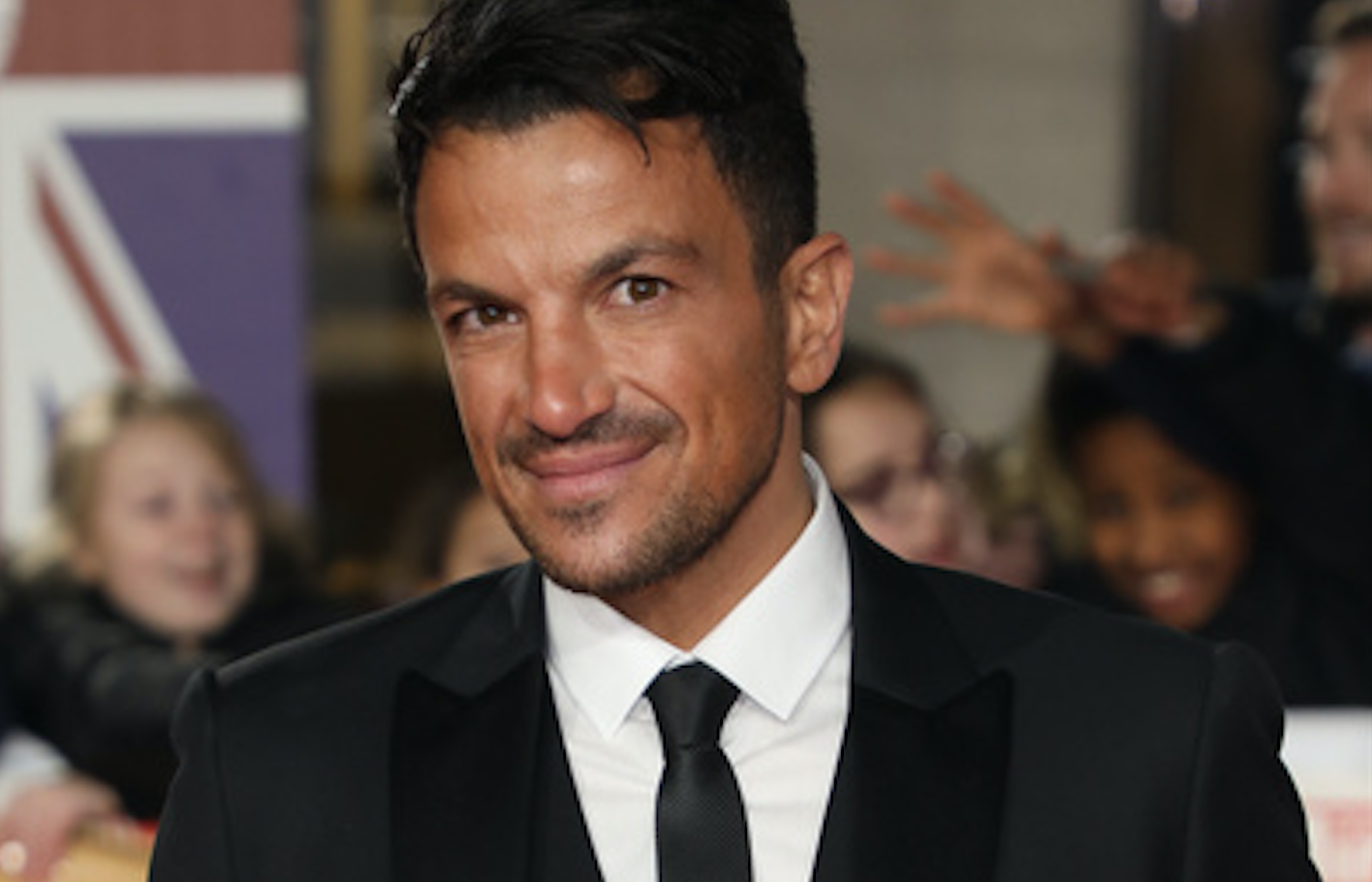 Peter Andre denies claims fans were 'ordered not to touch him' amid coronavirus fears