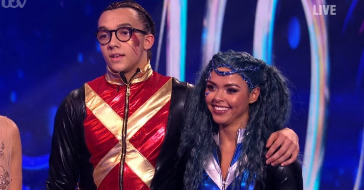 Perri Kiely on Dancing On Ice