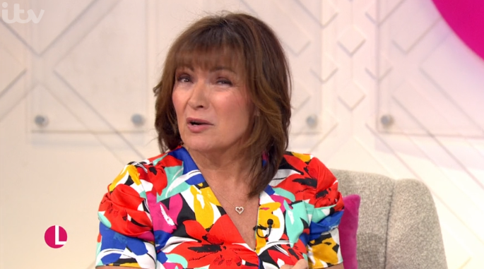 Lorraine Kelly forced to apologise as Prince George's godmother swears live on air