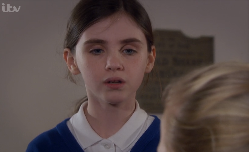 Emmerdale viewers cheer on April Windsor as she stands up to cruel bully