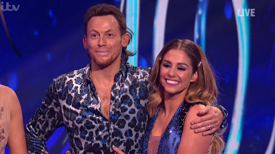 Joe Swash reveals he has an ear infection ahead of Dancing On Ice final