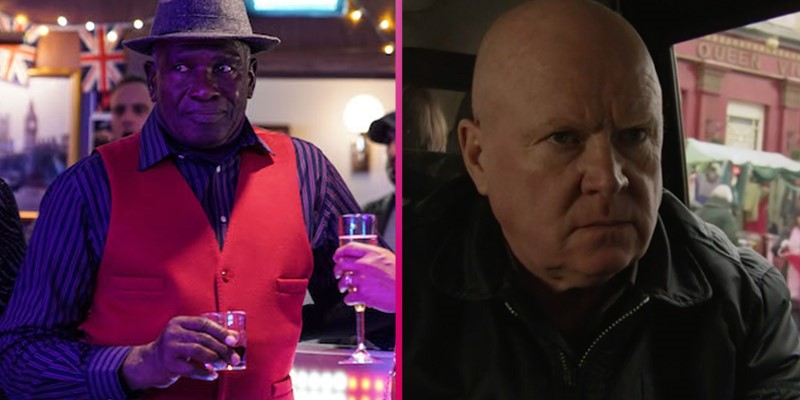EastEnders fans baffled by disappearance of Patrick Trueman and Phil Mitchell