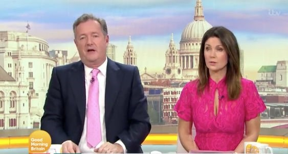 Piers Morgan admits he's wrong after comment to climate change activist on GMB