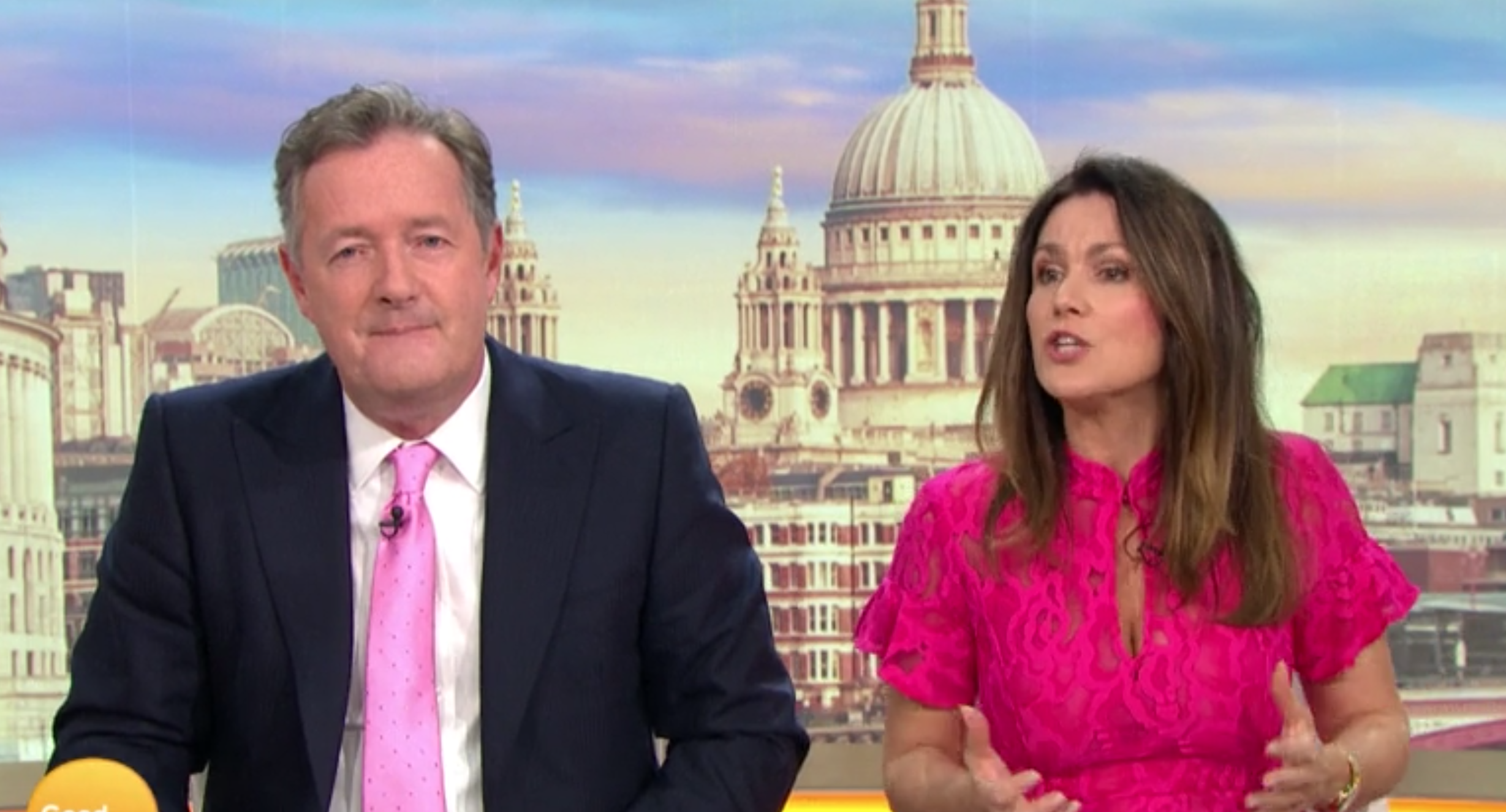 Piers Morgan slams Susanna Reid for not standing up for him in 'row' with GMB co-star