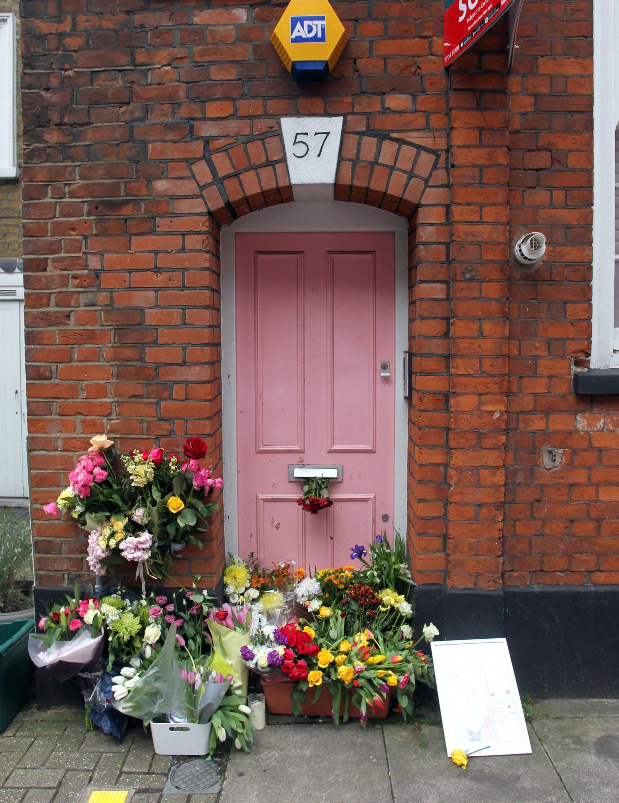 Caroline Flack's home