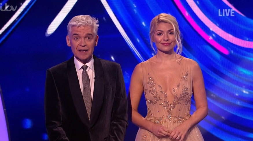 Holly Willoughby's Dancing On Ice dress hit by Ofcom complaints