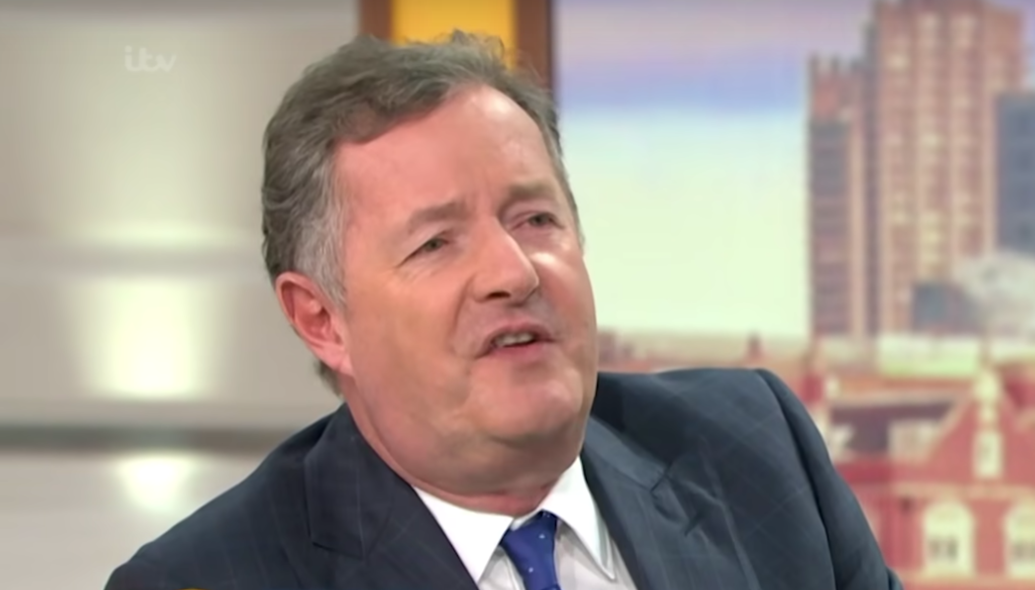 ITV defends Piers Morgan in apology statement about him 'mocking' Chinese language