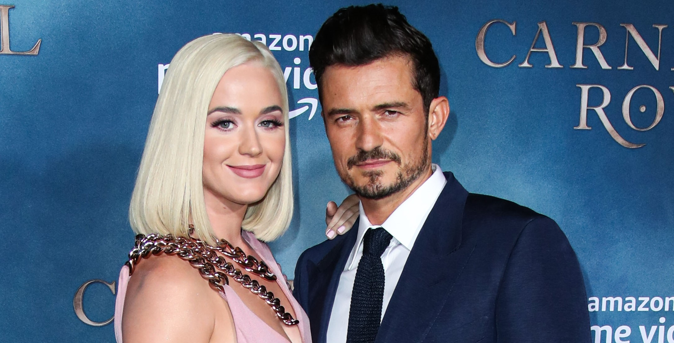 Pop star Katy Perry reveals a happy secret - she's pregnant