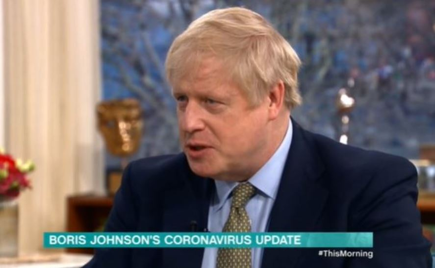 This Morning viewers slam Boris Johnson for avoiding answering Phil and Holly's questions