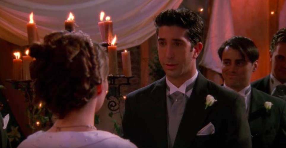 Ross says Rachel instead of Emily