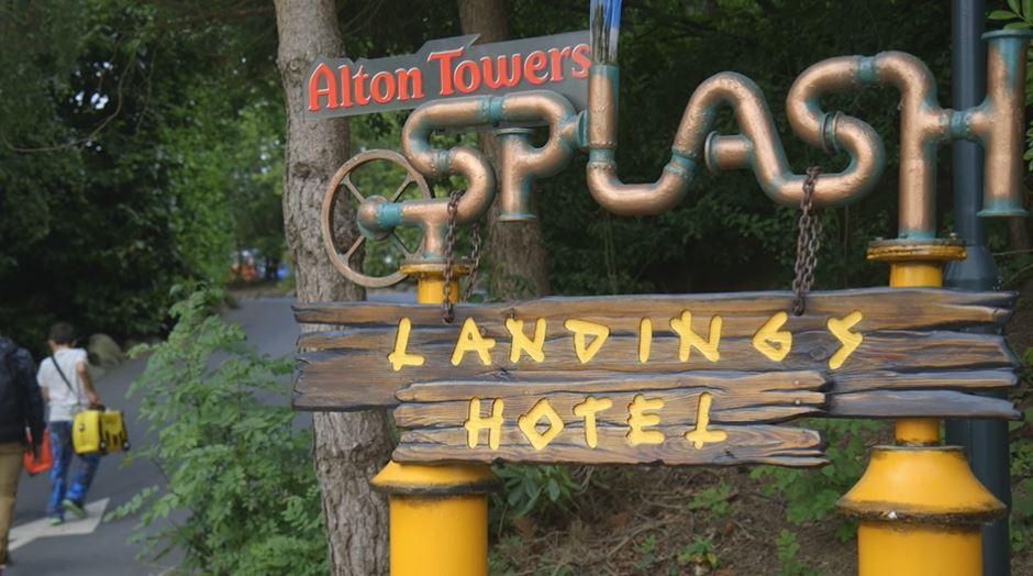 Splash Landings Alton Towers