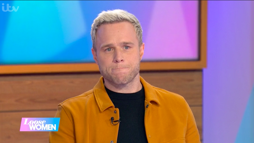 Olly Murs gets choked up as he's shown photo of late friend Caroline Flack on Loose Women