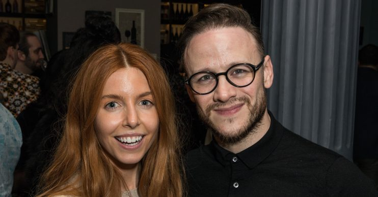 Striclty Come Dancing starsKevin Clifton and Stacey Dooley