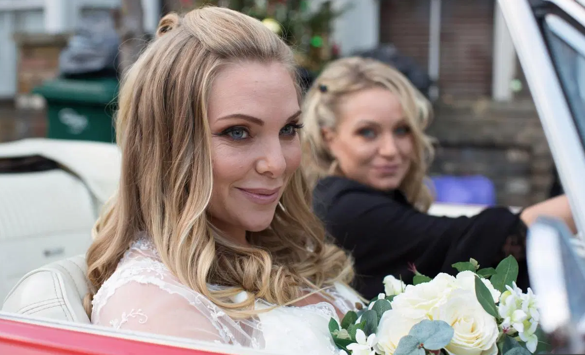 EastEnders fans delighted as Rita Simons and Samantha Womack share surprise reunion