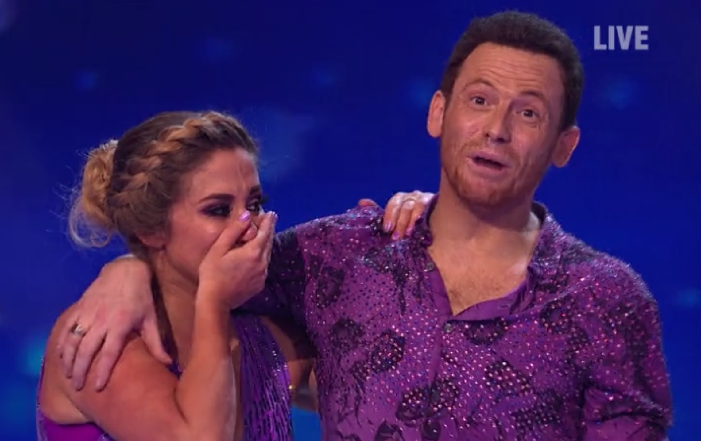 Stacey Solomon 'immensely proud' of Joe Swash after he wins Dancing On Ice
