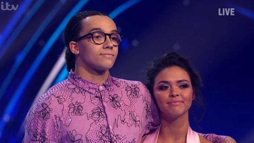 Perri Kiely sends touching message to Joe Swash after Dancing On Ice final