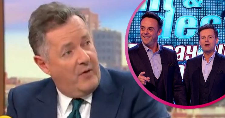 Piers Morgan and Ant and Dec