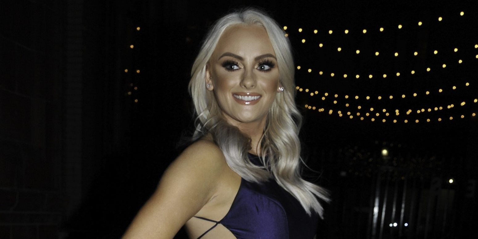 Former Coronation Street star Katie McGlynn taking part in celebrity special of The Greatest Dancer