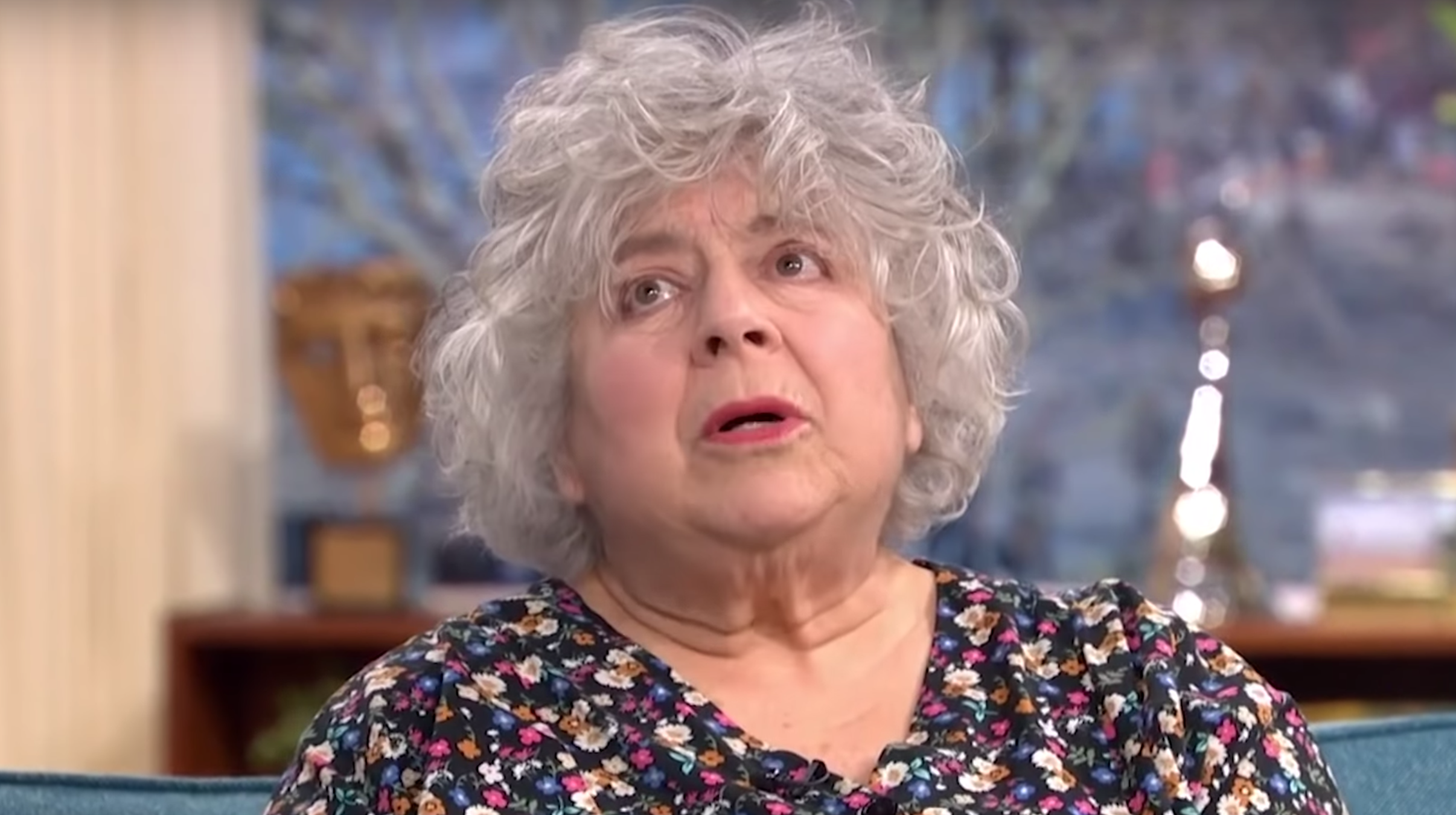 Miriam Margolyes swears on This Morning as she discusses how she 'loathes' her body
