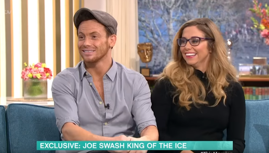 Joe Swash loses Dancing On Ice trophy hours after winning the show