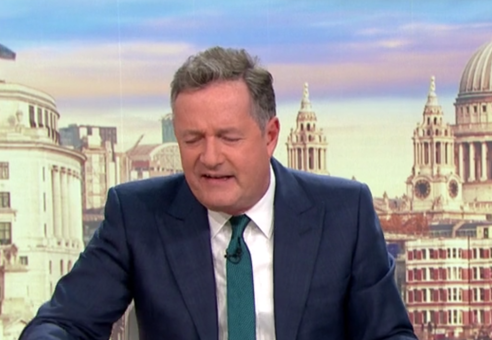 Piers Morgan bizarrely dares Good Morning Britain viewers to try and 'tickle' his privates