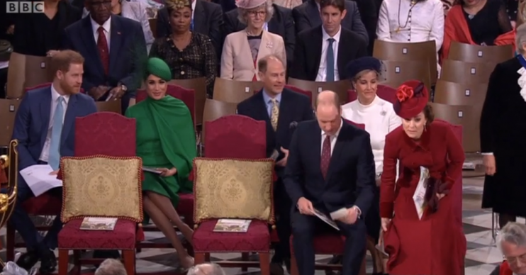 Harry and Meghan at Commonwealth Service