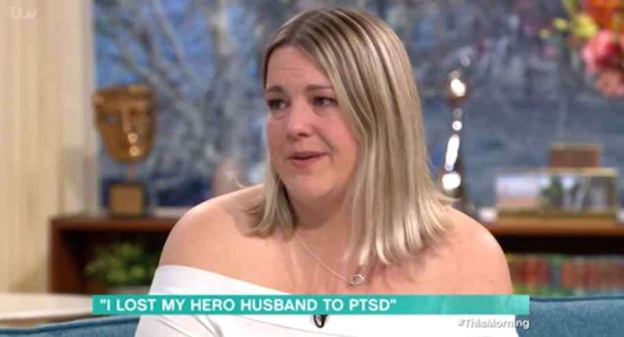 Widow Alicia on This Morning