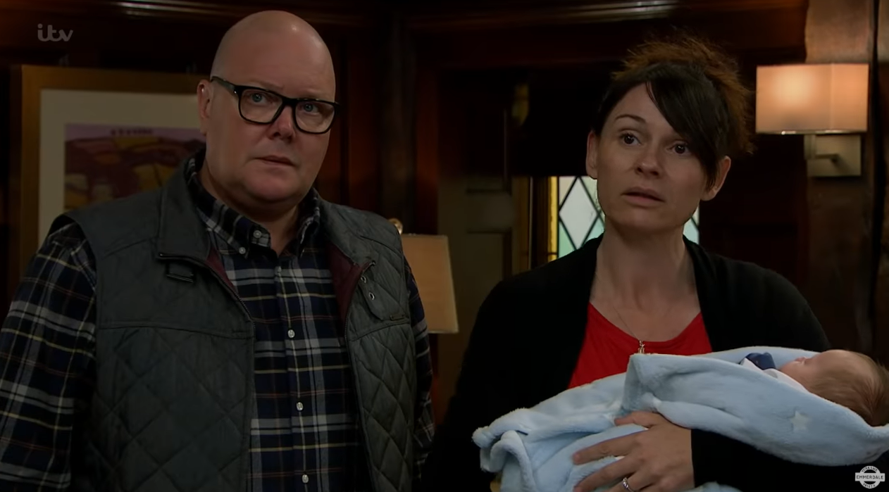 Emmerdale SPOILERS: Chas and Paddy are questioned by social services