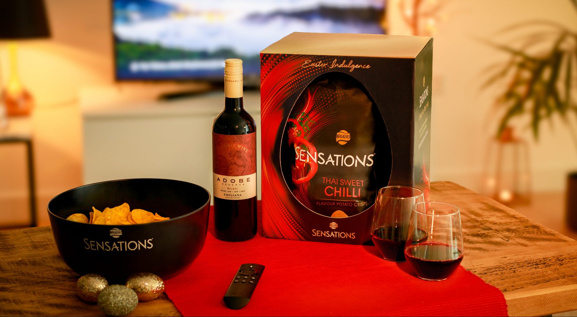 Walkers unveils a savoury Sensations Easter 'egg' that's filled with crisps and wine!
