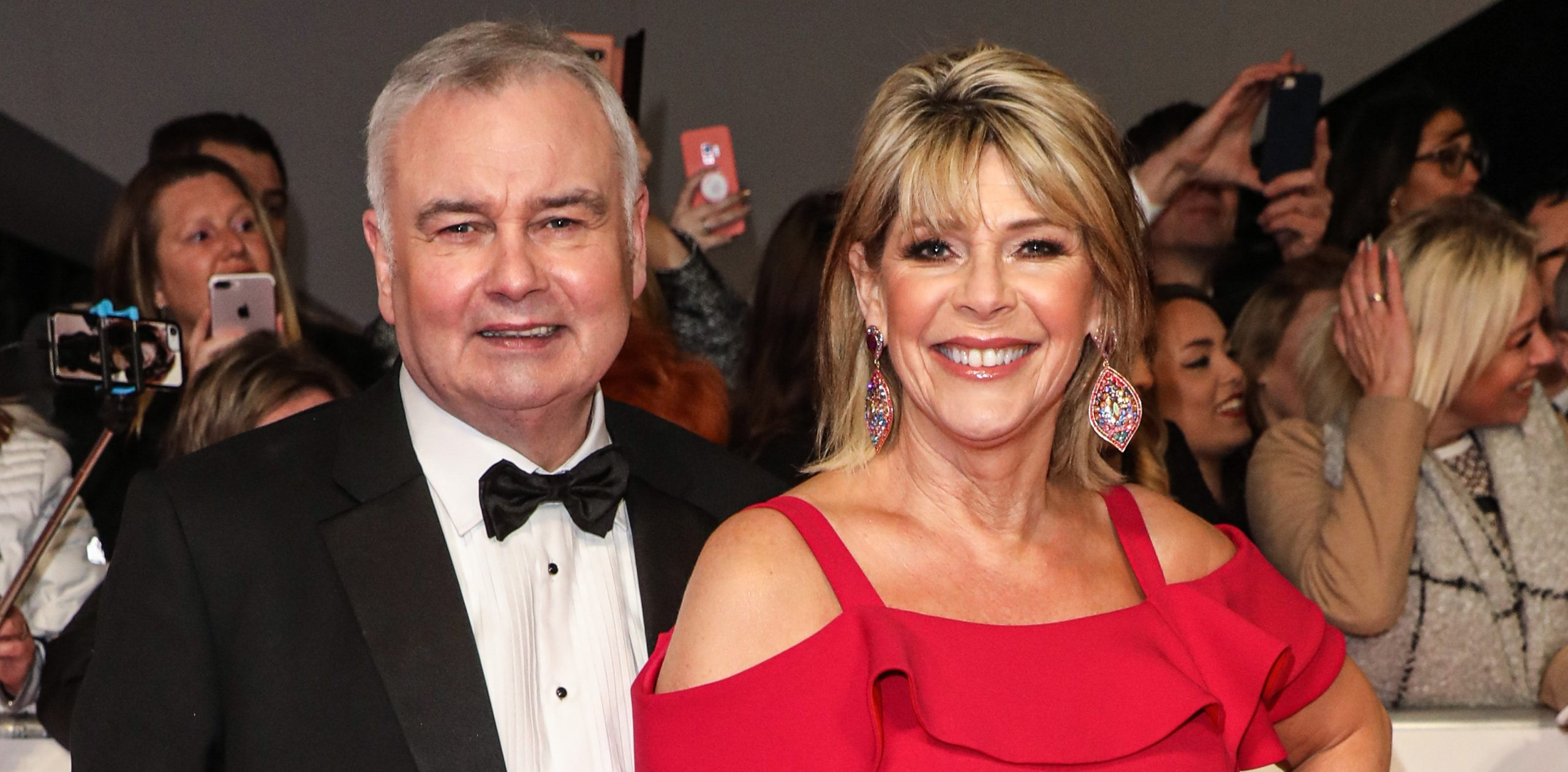 Eamonn Holmes reveals he's 'nursing' Ruth Langsford through 'difficult year' after her sister's death