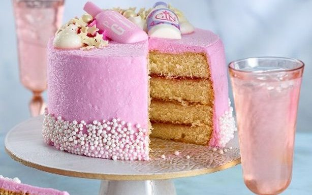 Asda launches a pretty Pink Gin celebration cake and it's flying off the shelves!