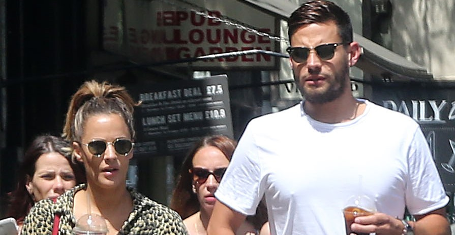 Caroline Flack's ex-fiancé Andrew Brady pays heartbreaking tribute after her funeral