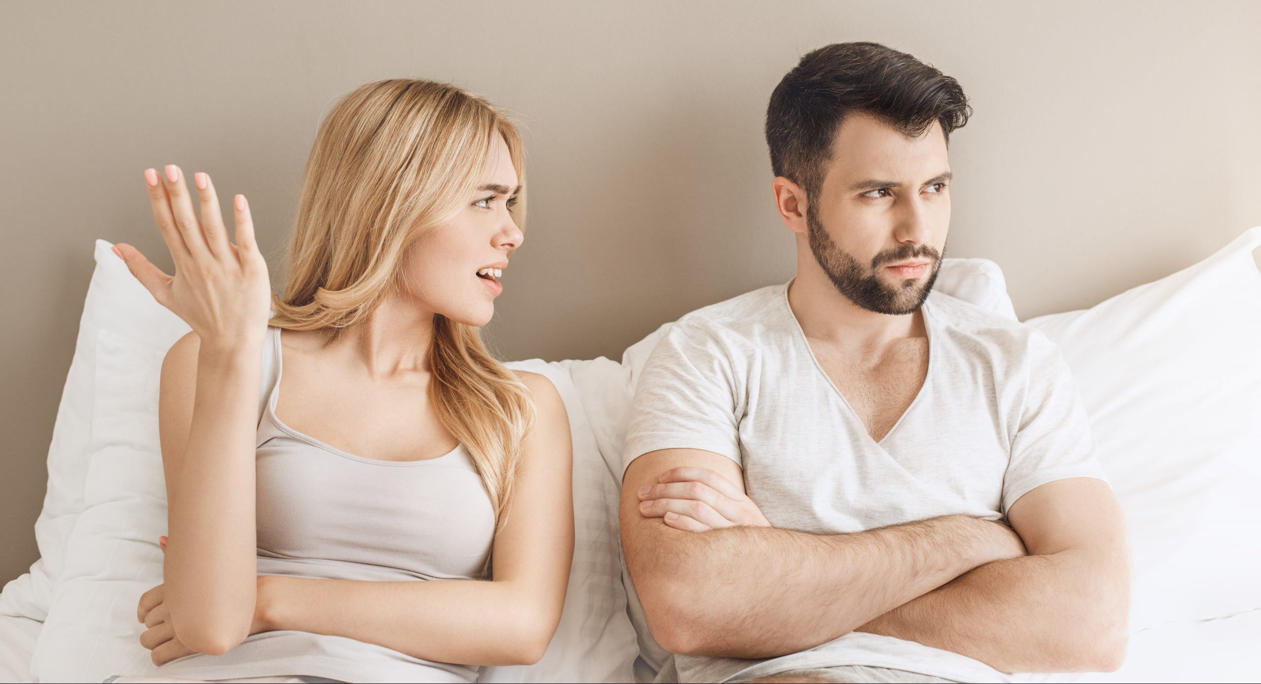 Expert issues warning to couples as the biggest cause of arguments in the bedroom is revealed