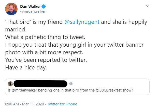 Dan Walker tweet