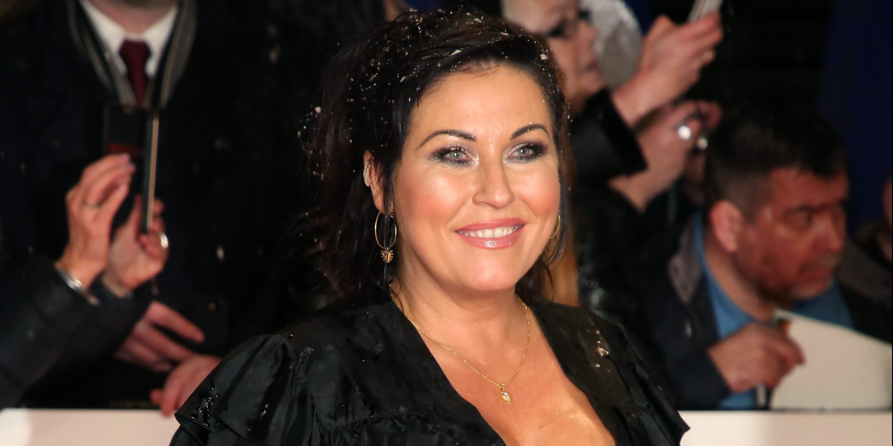 EastEnders' Jessie wallace takes pack of Dettol wipes on night out amid coronavirus pandemic