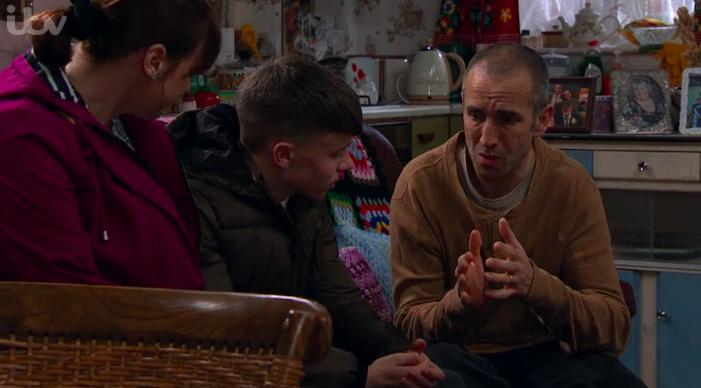 Sam asks Samson to be his best man (Credit: ITV)