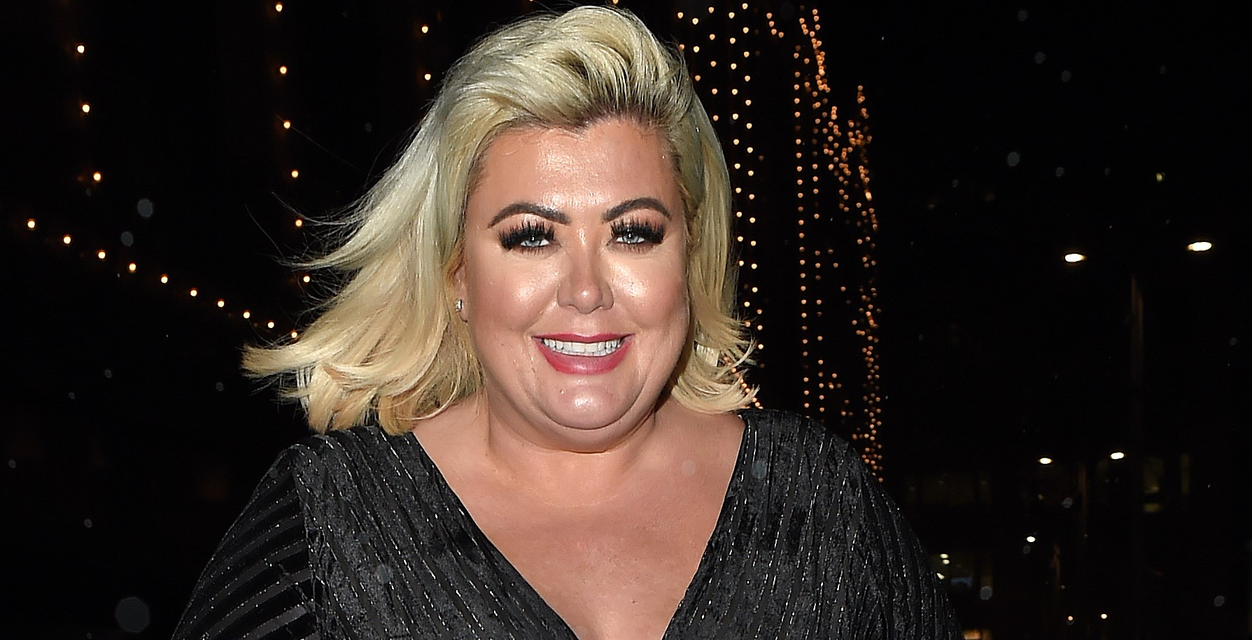 Gemma Collins suffers unfortunate wardrobe blunder as dress rips at awards ceremony