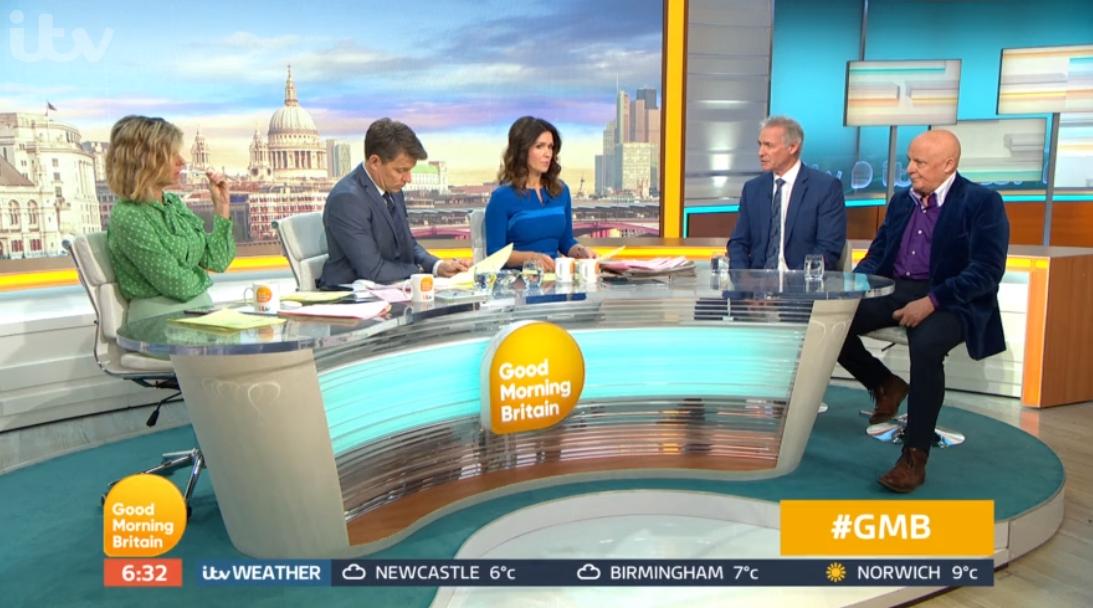 Dr Hilary Jones on Good Morning Britain