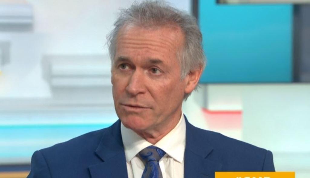 Good Morning Britain's Dr Hilary Jones warns UK is on 'same trajectory' with coronavirus as Italy