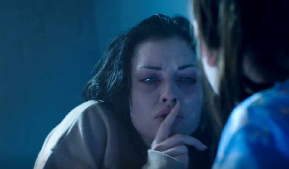 EastEnders fans call soap 'a horror film' as Whitney hallucinates