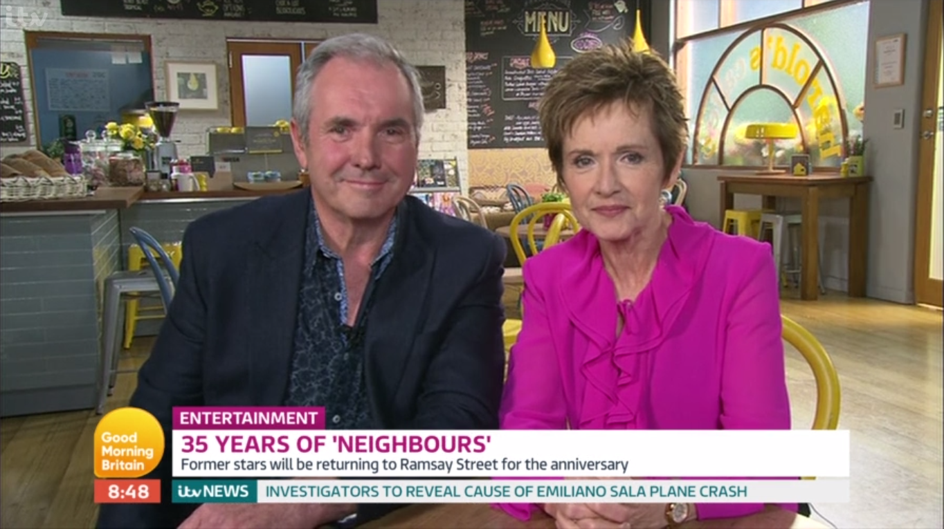 Coronavirus Crisis: Neighbours' Alan Fletcher and Jackie Woodburne banned from UK