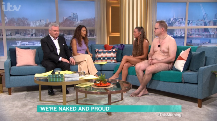 This Morning naked guests