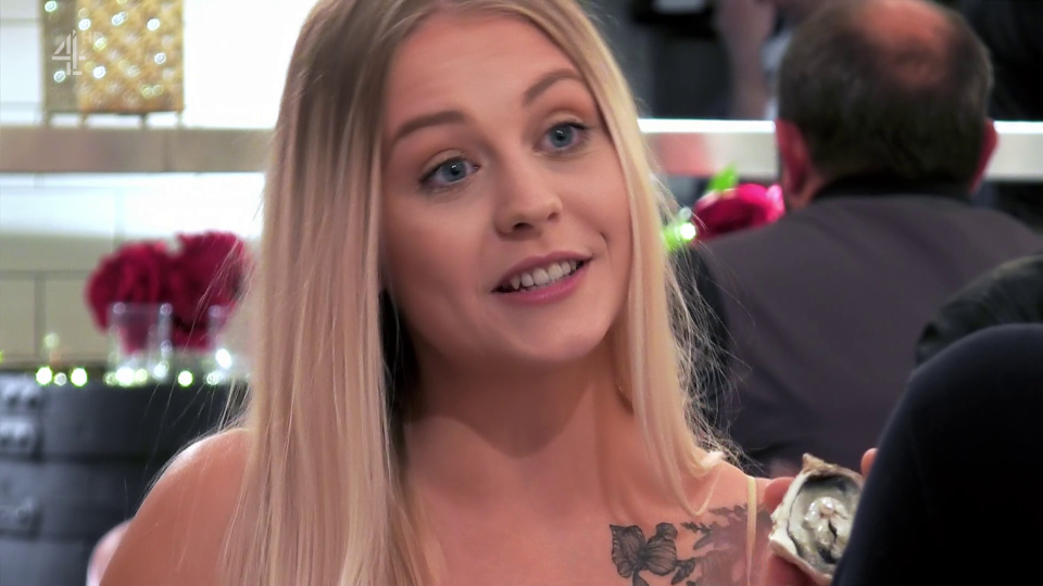 First Dates viewers squirm as woman presents date with mould of her vagina