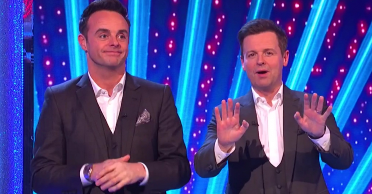 Ant and Dec apologise for swearing on Takeaway