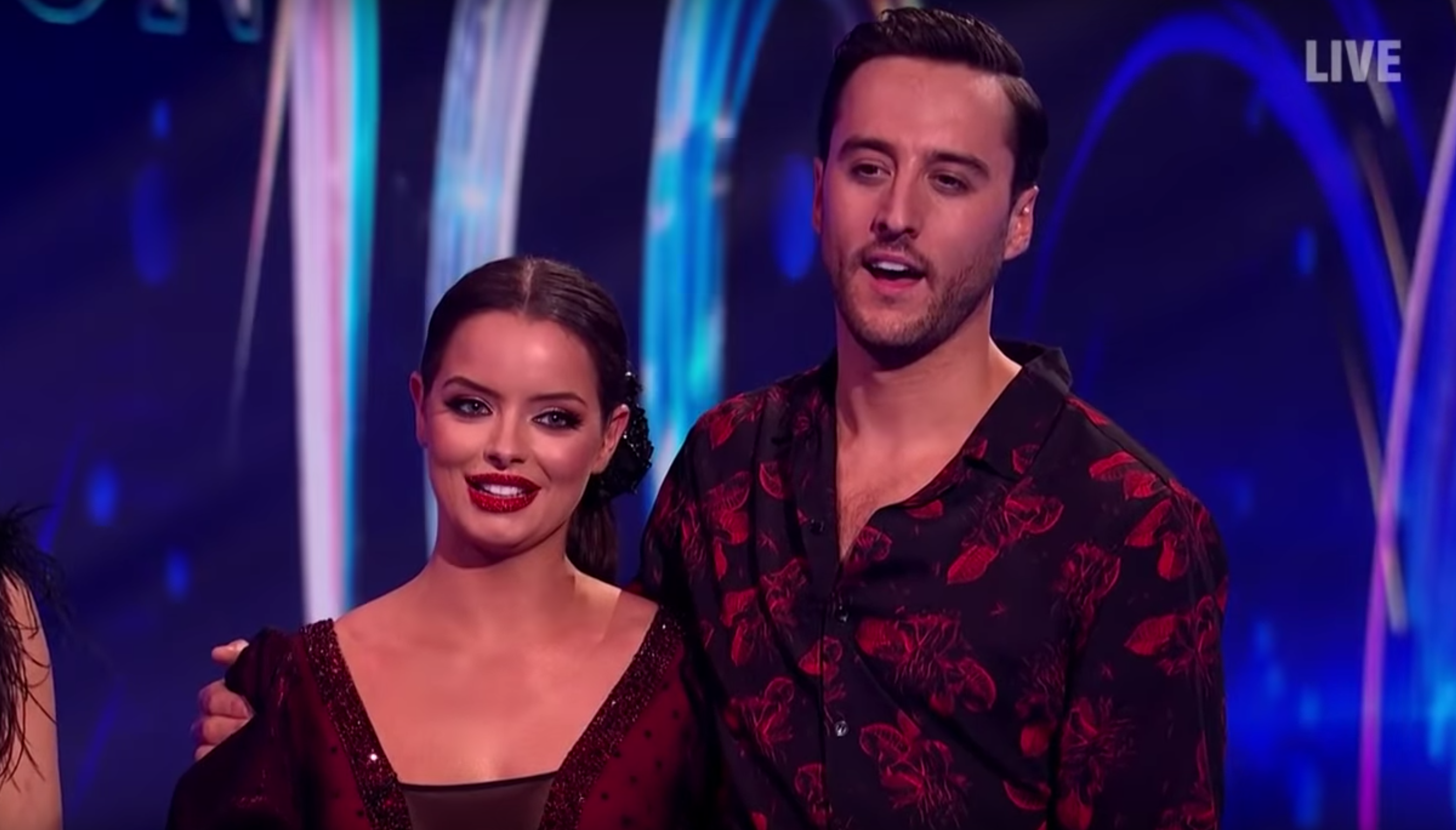 Maura Higgins hits back at Dancing On Ice rumours about Alexander Demetriou