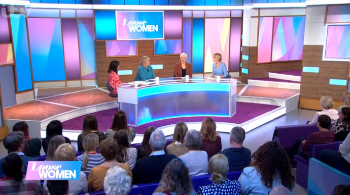 Loose Women studio
