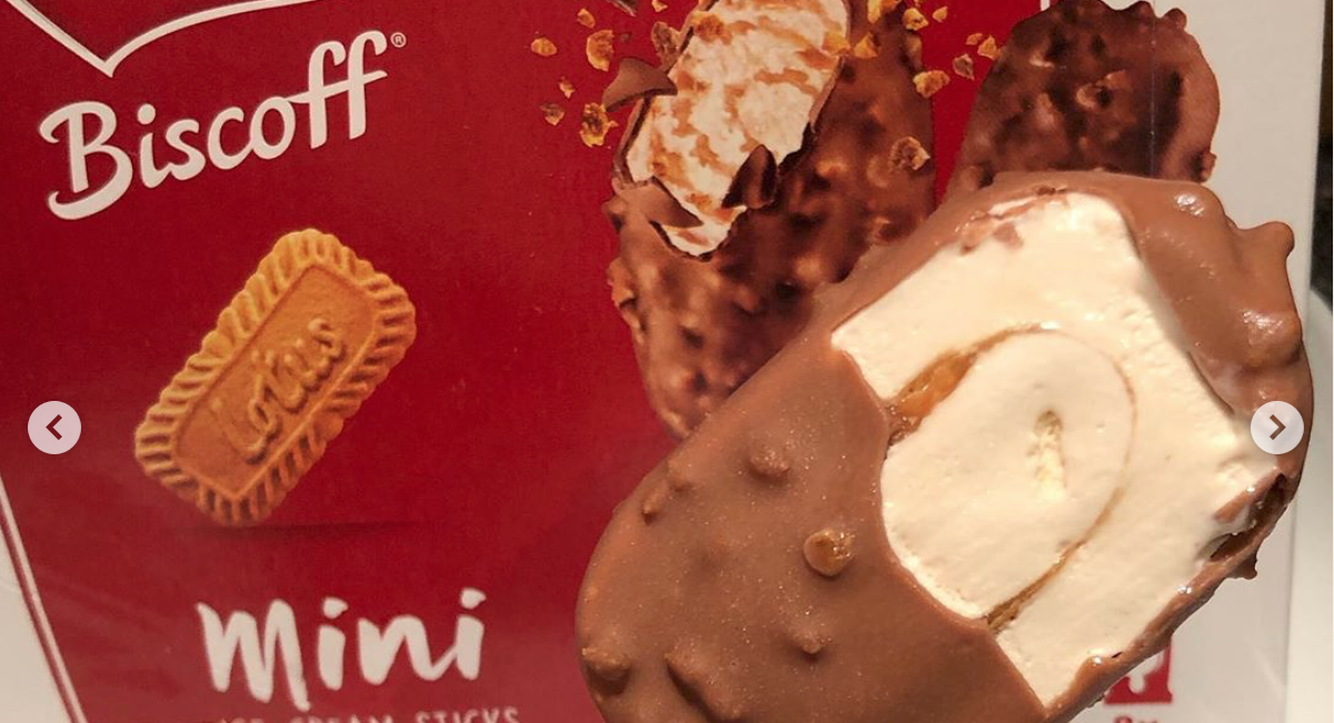 Fans joke Biscoff is 'thinking of the dieters' as it launches new Mini Ice Cream Sticks in the UK
