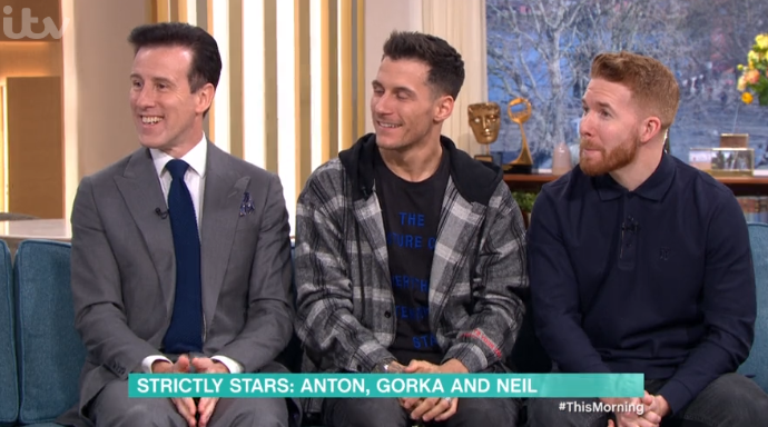 Anton Du Beke on This Morning
