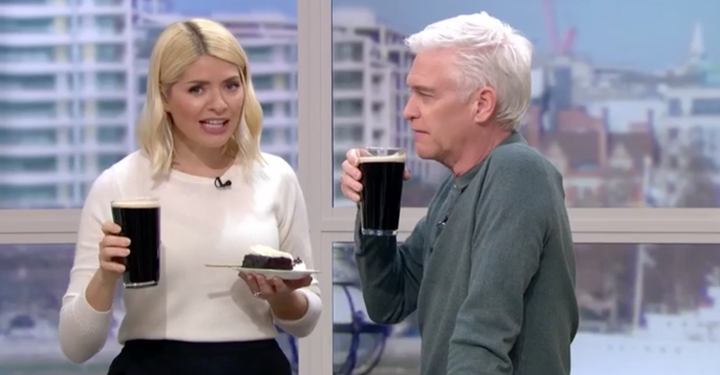 Holly Willoughby This Morning St Patrick's Day ITV